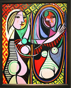 "Picasso's ""Girl In Mirror"""